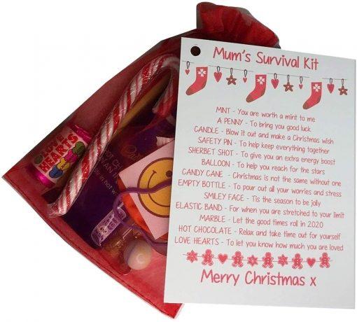 Christmas Stocking Survival Kit (Mum)
