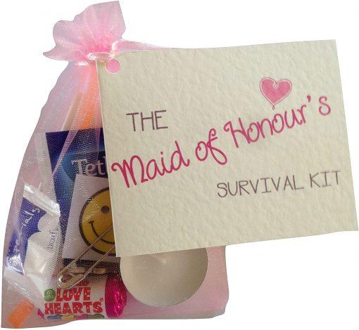 Maid of Honour's Survival Kit